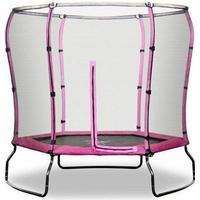 Rebo Safe Jump Trampoline + Safety Enclosure 213cm