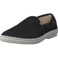 Rivieras Classic 20 Noir, Sko, Flade sko, Lærredsko, Lilla, Beige, Unisex, 40