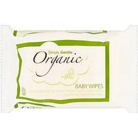 Simply Gentle Organic Baby Wipes 52-pack