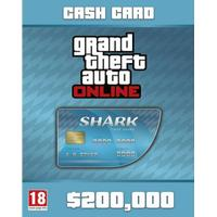 TAKE-TWO INTERACTIVE Grand Theft Auto Online : Tiger Shark Cash Card - Digital download / ESD