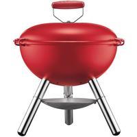 Bodum FYRKAT Picnic charcoal grill, 3 legs long Red