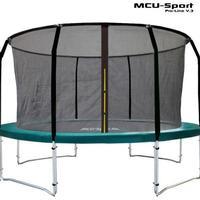 MCU-Sport Pro-Line Trampoline V3.0 + Pro Safetynet 430cm