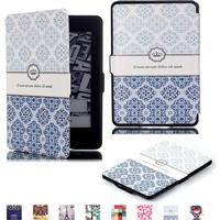 Amazon Holberg Amazon Kindle Paperwhite Fodral - Retro Blomma