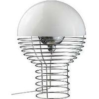 Wire bordlampe - Hvid fra Verner Panton
