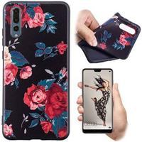 Color Serie Huawei P20 TPU Cover - Roser
