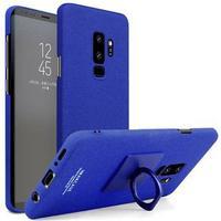 Samsung Galaxy S9+ Imak Ring Cover med Beskyttelsesfilm - Blå