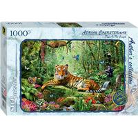 Step Puzzle Tiger in the Jungle 1000 Pieces