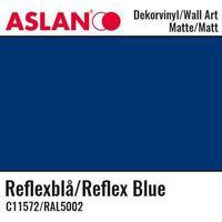 Vinyl Matt - Aslan Folie - 32 x 100 cm - Reflex Blue