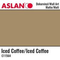 Vinyl Matt - Aslan Folie - 32 x 100 cm - Iced Coffee