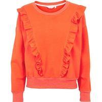Basic Apparel - Vermillion Orange - Sweatshirt - XS
