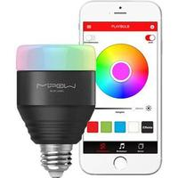 MiPow Playbulb Smart LED Pære - iOS, Android - Sort