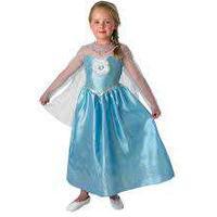 Elsa maskeradklänning deluxe stl 104-128, Disney Frost