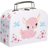 A Little Lovely Company Kuffert med baby Dådyr
