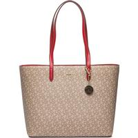 Bryant Large Tote KHK LOGO-RED