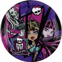 Monster High middagstallerkener