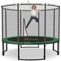 Ampel 24 Deluxe Trampoline + Protective Edge & Outer Safety Net 305cm