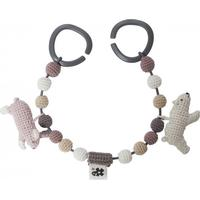 Sebra Crochet Pram Chain Arctic Animals