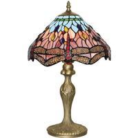 Searchlight Electric 1287 Dragonfly Tiffanylampa