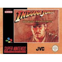 Indiana Jones Greatest Adventures - Super Nintendo (brugt)