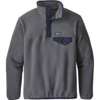 Patagonia LW Synchilla Snap-T Fleece Pullover Boys forge grey Gr. M