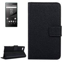 Flipcover med Holder & Kreditkortlommer til Sony Xperia Z5 Compact