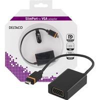 Deltaco Slimport USB B Micro-VGA M-F