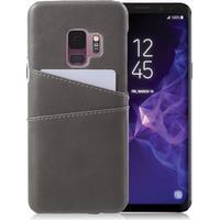 G-CASE Samsung Galaxy S9 PU leather case - Grey