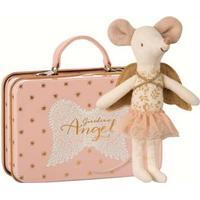 Mus - engel med kuffert - Maileg