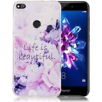 Huawei Honor 8 Lite Cover med unik og smuk print - Lief is b