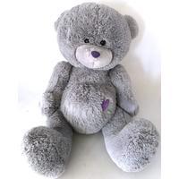 Nalle Milton 80 cm grå mjukisbjörn
