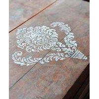 Stencil t/kalkmaling - filigran 2 - 30*40 cm
