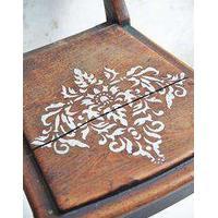 Stencil t/kalkmaling - filigran 3 - 30*40 cm