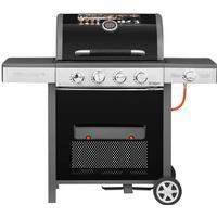 Gasgrill 4 brændere og sidebrænder - Grillexpert