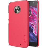 Nillkin Super Frosted Shield Motorola Moto X4 Cover - Rød