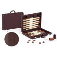 backgammon læder