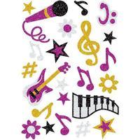 Herma Magic Music Glittery 3276