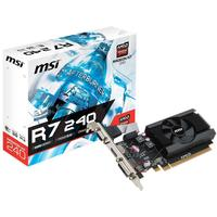 MSI Radeon R7 240 2GB DDR3 64b LP