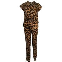 Neo Noir - Grace Leo Jumpsuit - Leopard - Large