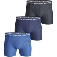 Björn Borg Solid Essential Shorts 3-pack Blue