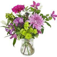 Födelsedag Blandade blommor
