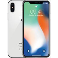 Apple iPhone X 256 GB Sølv med abonnement