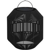 Gloster  Ambient Nest batteridrevet solcellelampe, sort (stål)