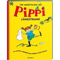 Tre berättelser om Pippi Långstrump (Inbunden, 2018)