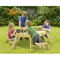 Plum Premium Træ Ottekantet Aktivitetsbord