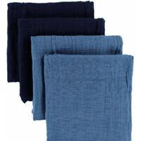 Pippi Muslinfilt Blue 4-pack