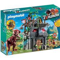 Playmobil Hidden Temple with T Rex 9429