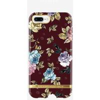 Red Floral Cover