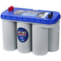 Optima Batteri i blå Top 12 V 75 Ah BT DC-5.5