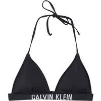 Calvin Klein Intense Power Triangle Bikini Top Pvh Black (KW0KW00200)