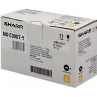 Sharp MXC30GTB yellow toner 6K